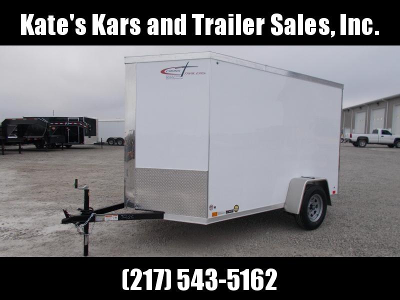 2020 Cross Trailers 6X10 Single Axle Side door Enclosed Cargo Trailer