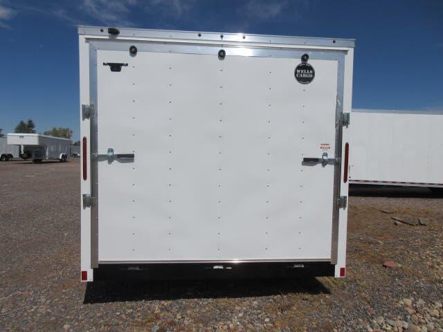 2020 Wells Cargo FastTrac 8.5x24+V Enclosed Cargo Trailer