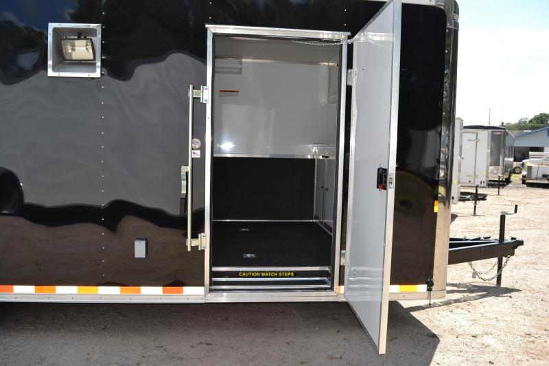 8.5x24 Continental Cargo | Race Car Trailer [Black]