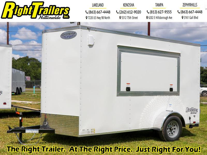 6X12 Continental Cargo I Concession Trailer