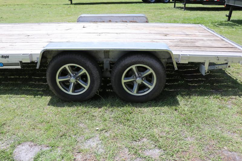7x16 USED Wolverine Trailers | Open Car Hauler