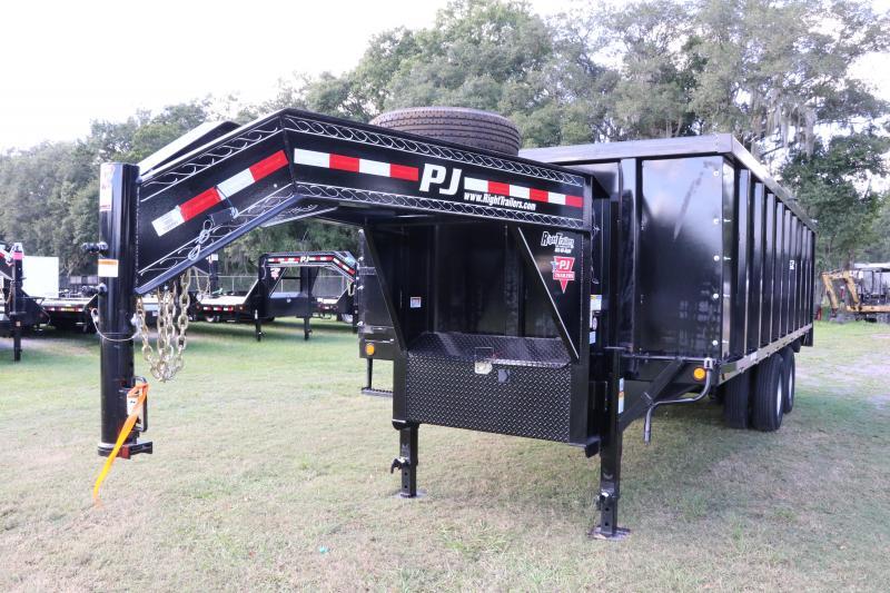 8x20x4 PJ Trailers | Deck Over Dump Trailer