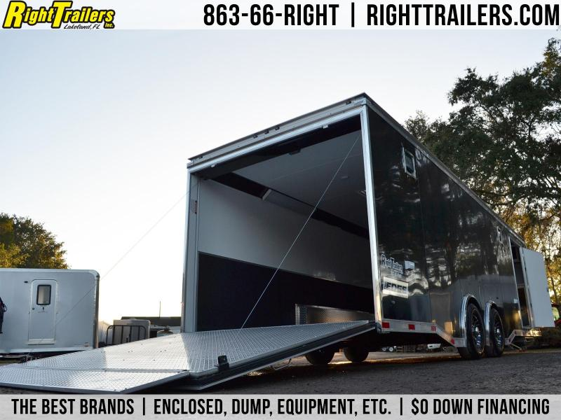 8.5x28 Haulmark Edge Pro | Racing Trailer