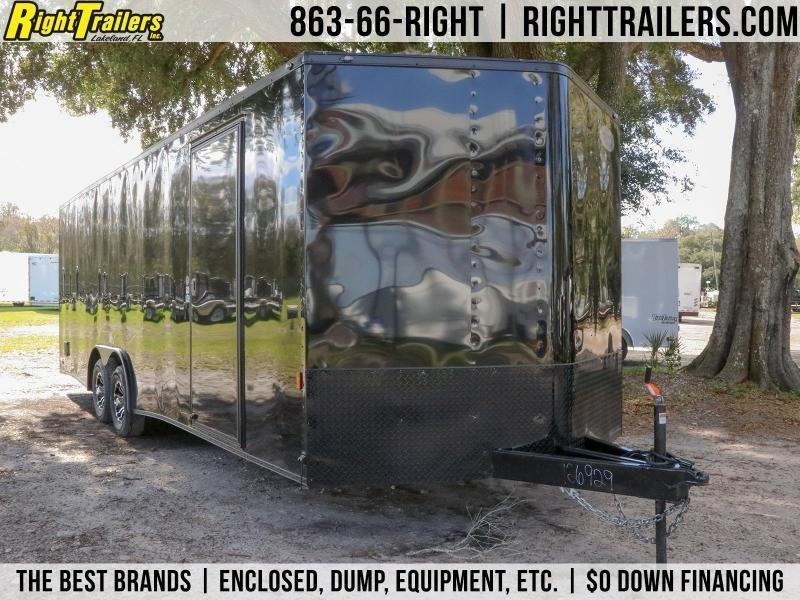 8.5x24 Continental Cargo | Enclosed Trailer ( Black Out Kit )