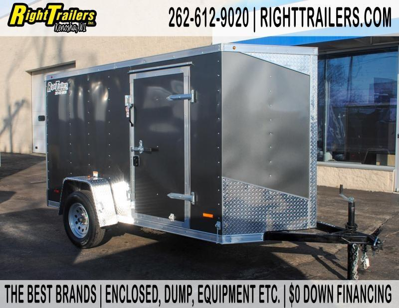 5x10 RC Enclosed Cargo Trailer