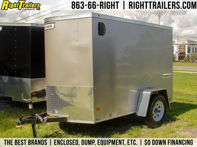 5x8 Haulmark Passport | Enclosed Trailer [Beige]