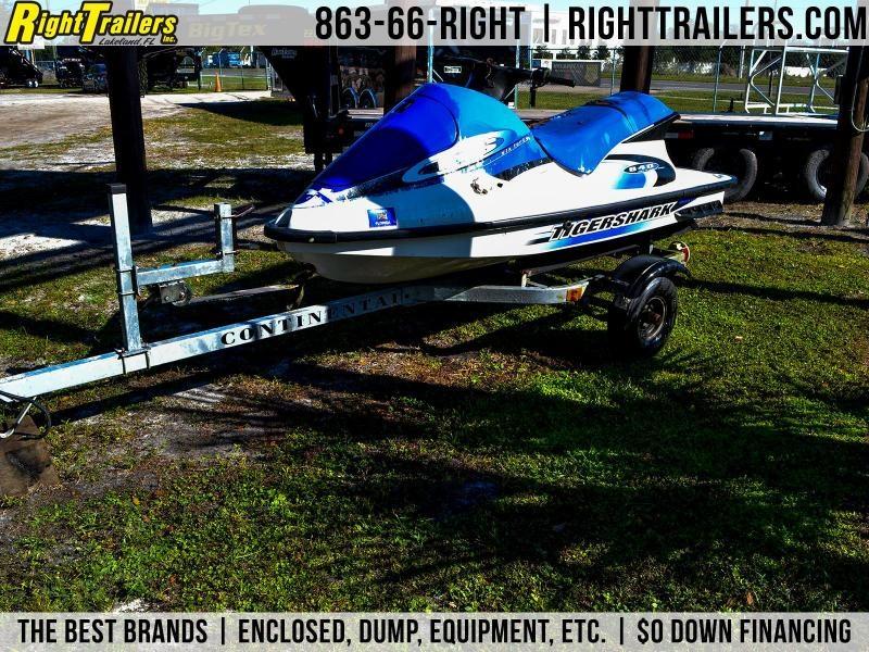 1999 Jet Ski Tigershark Wave Runner Watercraft Trailer