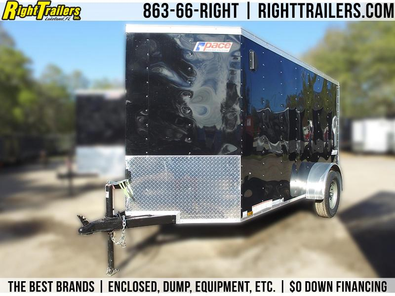 5x8 Pace American   Enclosed Cargo Trailer
