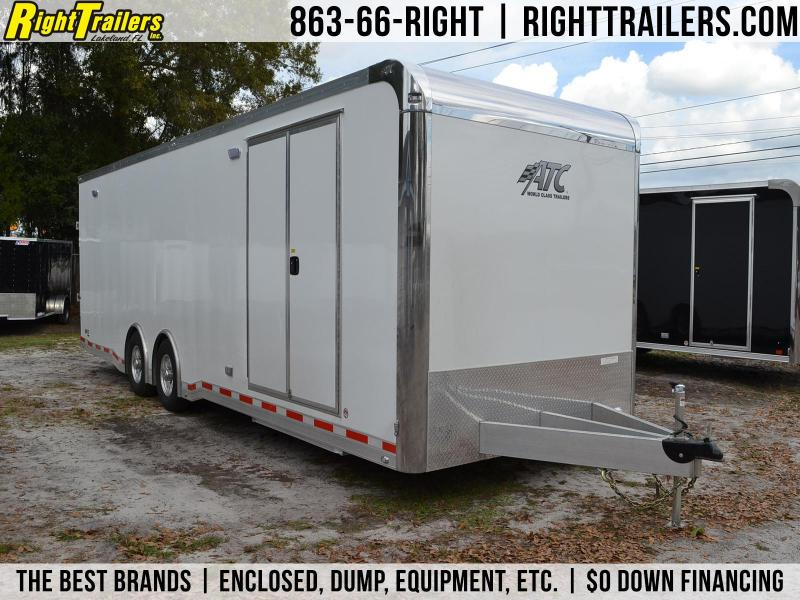 8.5x28 ATC Quest | Enclosed Car Hauler | Racing Trailer