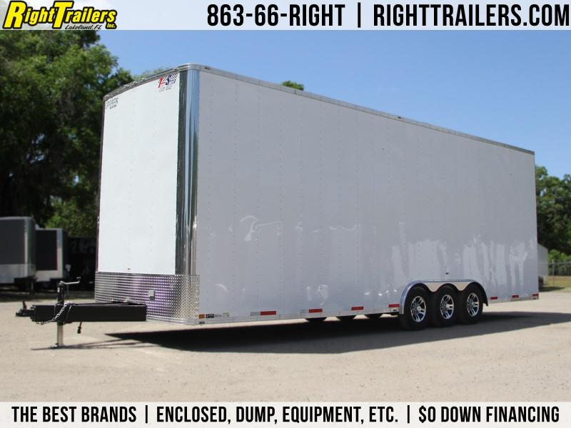 8.5x30 Team Spirit Trailers | Stacker Trailer