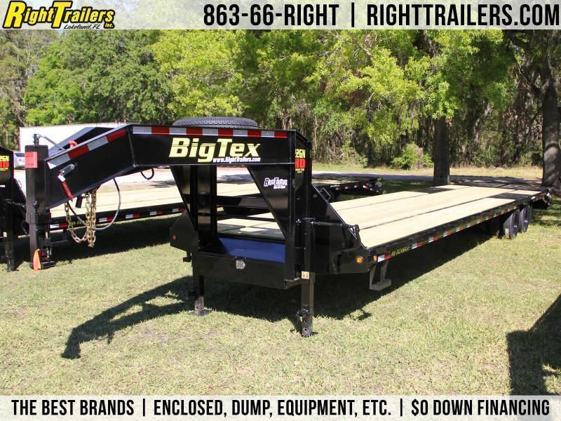 8.5x40 Big Tex Trailers | Equipment Trailer [22GN-35BK+5MR]