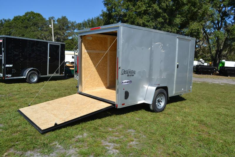 6x12 Look Trailers   Enclosed Trailer