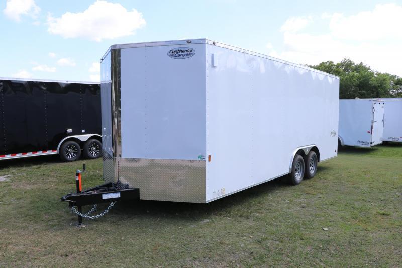 8.5X20 Continental Cargo   Enclosed Cargo Trailer
