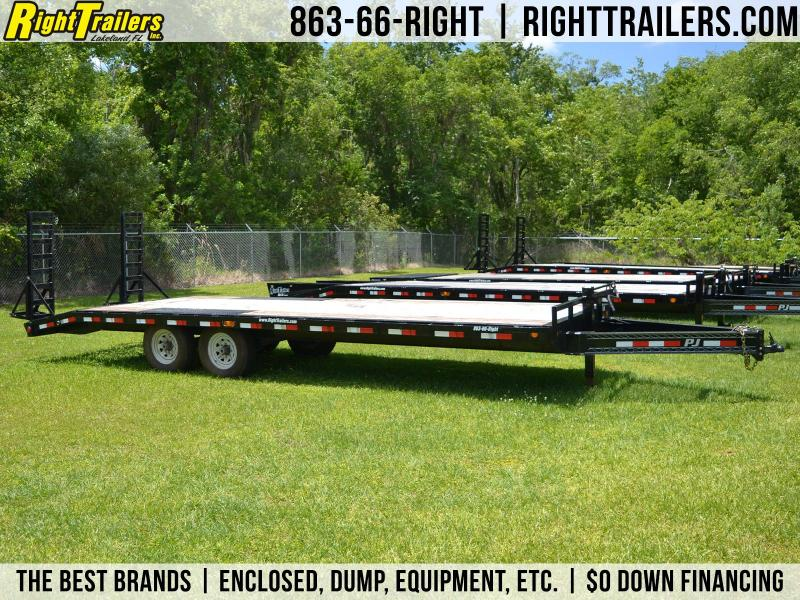 8x24 PJ Trailers | Equipment Trailer