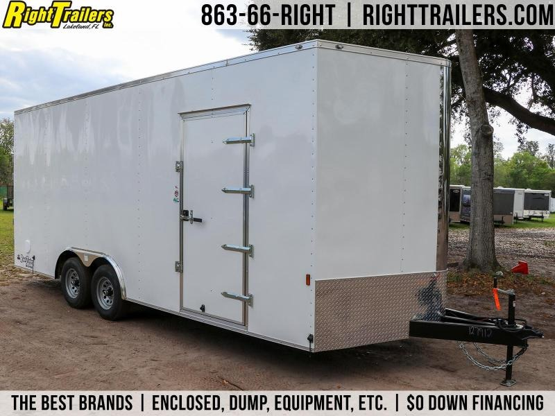 8.5X20 Continental Cargo | Enclosed Cargo Trailer