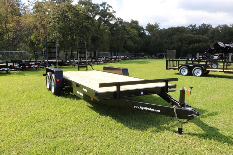 7x18 Red Hot Trailers | Equipment Trailer