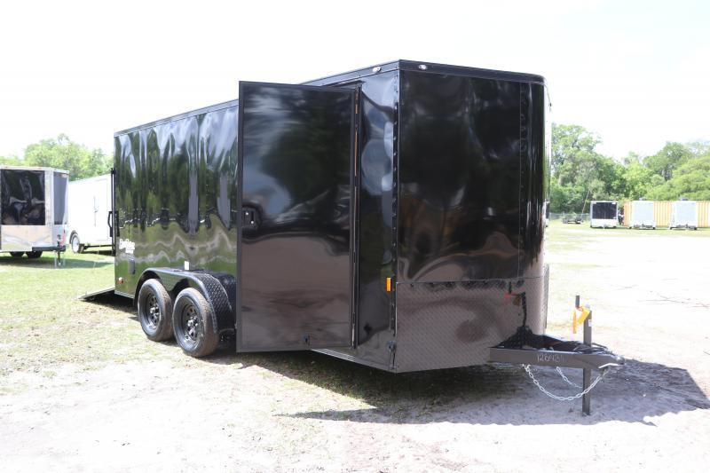 7X16 Continental Cargo I Enclosed Cargo Trailer
