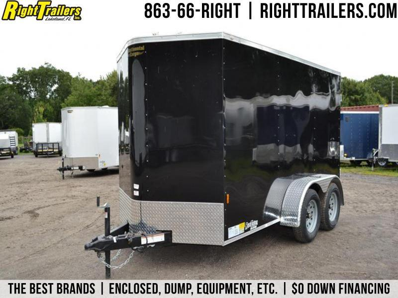 6x12 Continental Cargo | Enclosed Trailer [Black]