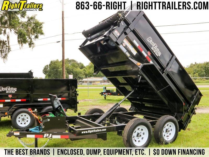 5x10 PJ Trailers | Dump Trailer