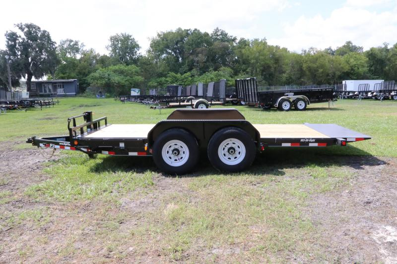 7x16 PJ Trailers | Equipment Trailer