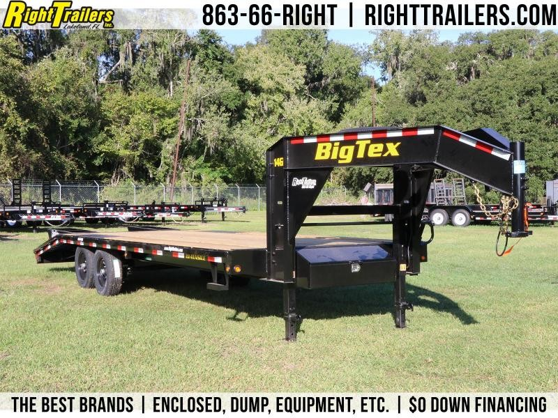 8.5x20 Big Tex Trailers I Equipment Trailer