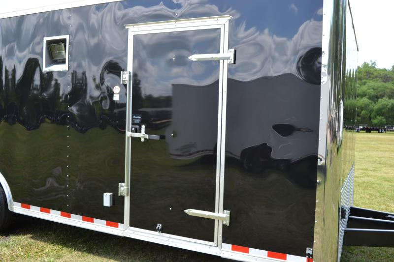 8.5x24 Continental Cargo | Enclosed Racing Trailer