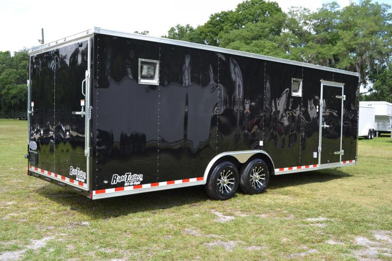 8.5x24 Continental Cargo | Enclosed Racing Trailer