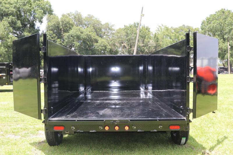 7x16 PJ Trailer   Dump Trailer