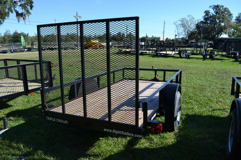 5x10 Red Hot Trailers   Utility Trailer