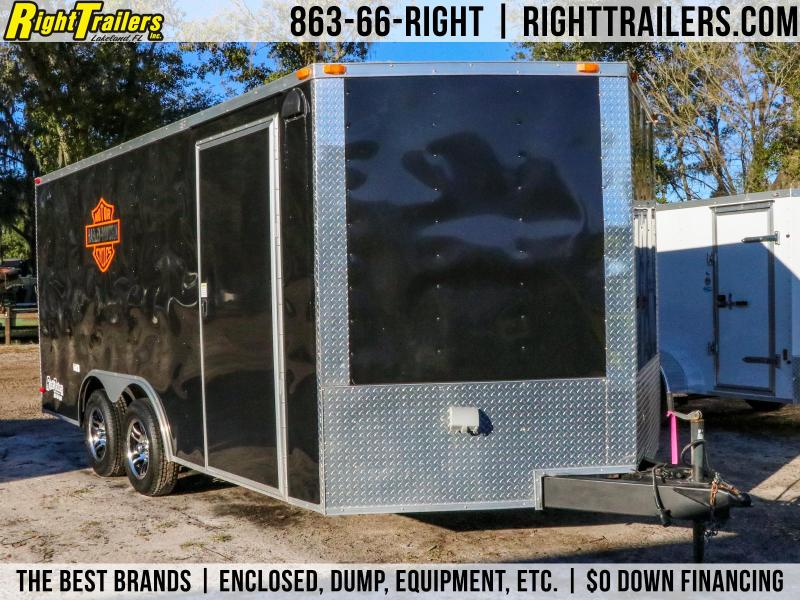 ( Used ) 8.5x16 South Georgia | Enclosed Motorcycle Trailer