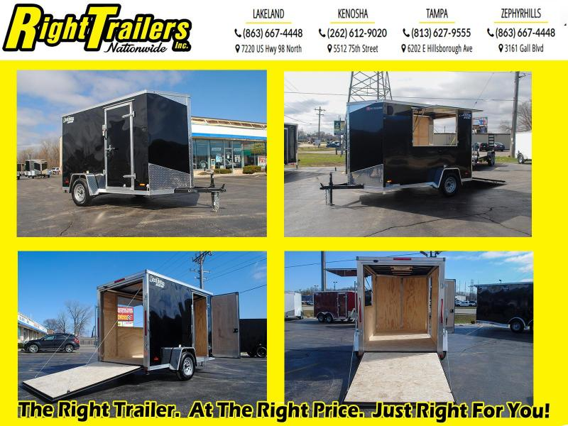6x10 RC Concession Enclosed Cargo Trailer