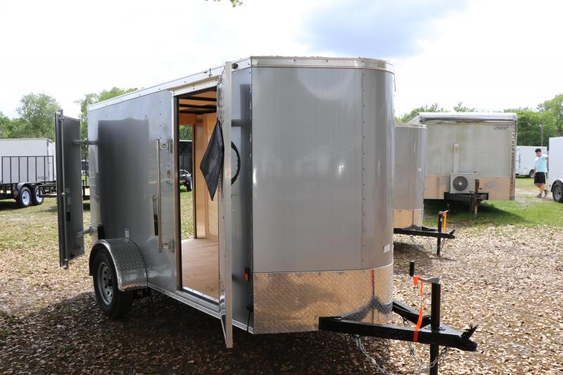 5X10 Continental Cargo   Enclosed Cargo Trailer