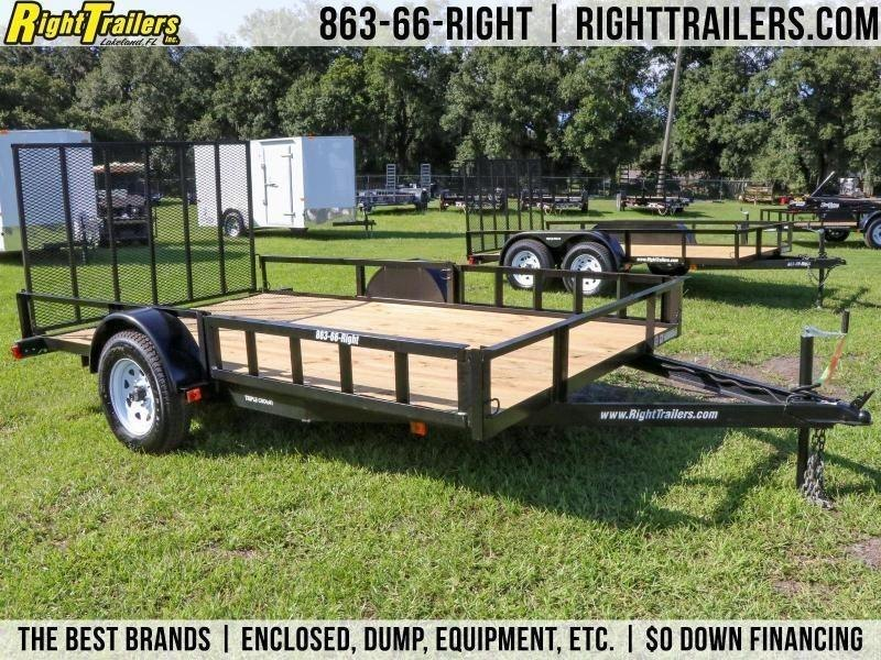 7x12 Red Hot Trailers | ATV Utility Trailer
