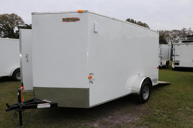 6x12 Cargo Craft Enclosed Trailer