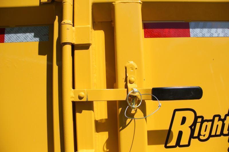 7x14 Lamar Trailers | Dump Trailer [Cat Yellow]
