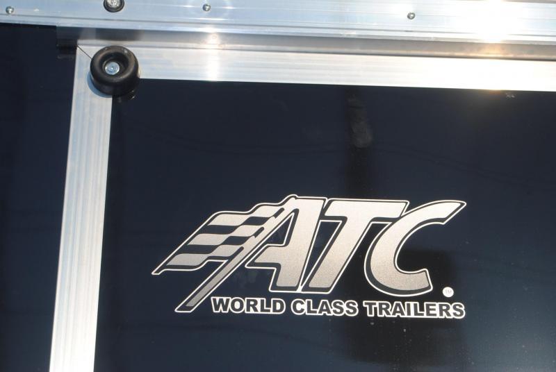 8.5x20 ATC Raven | Enclosed Trailer