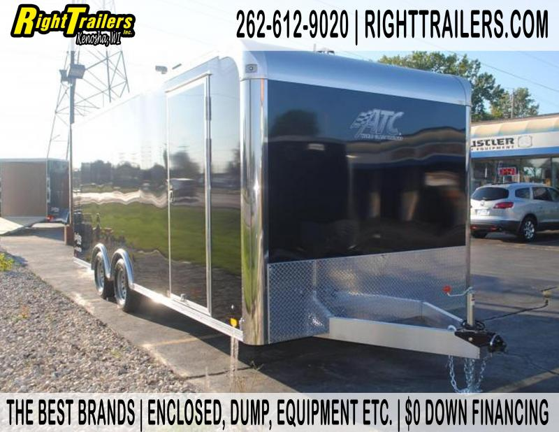 8.5x20 ATC Raven | Enclosed Trailer