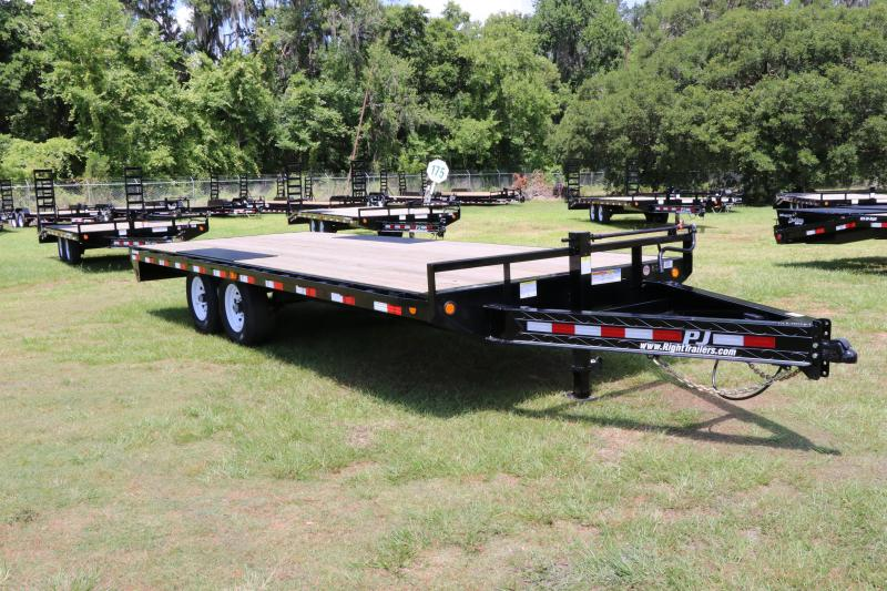 8x20 PJ Trailers | Deck Over | Equipment Trailer