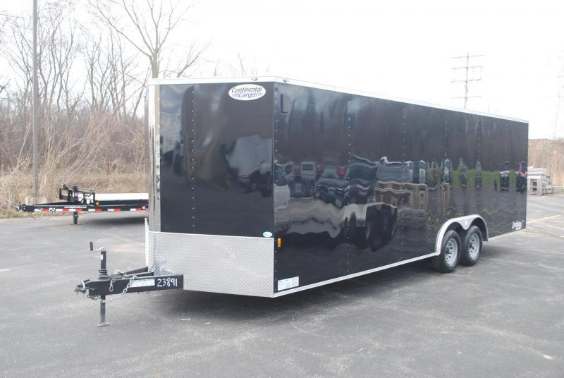 8.5x24 Continental Cargo | Enclosed Trailer