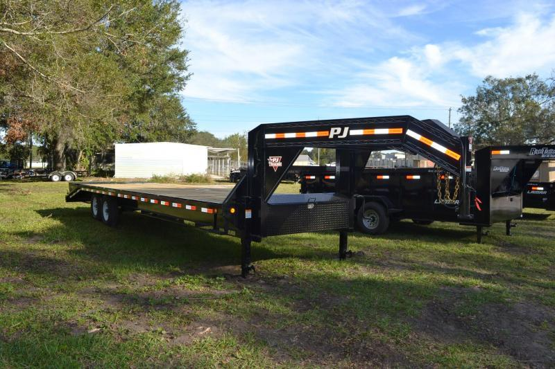 8.5x30 PJ Trailers | Equipment Trailer [Gooseneck]