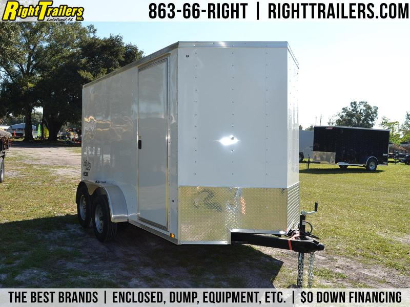 6x12 Pace American   Enclosed Trailer