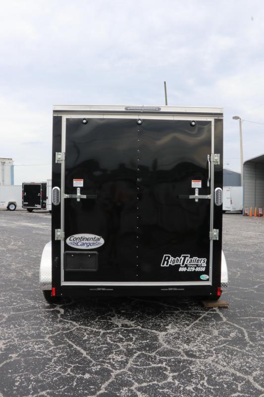 6x12 Continental Cargo   Enclosed Trailer