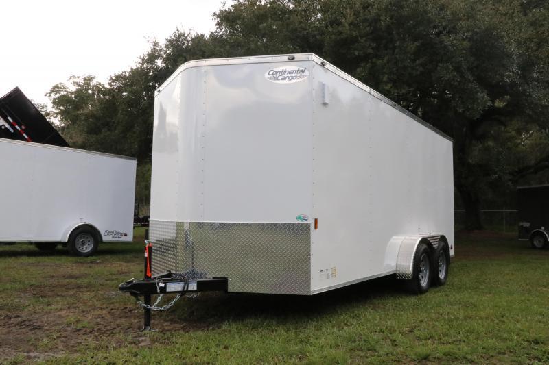 7x16 Continental Cargo | Enclosed Trailer