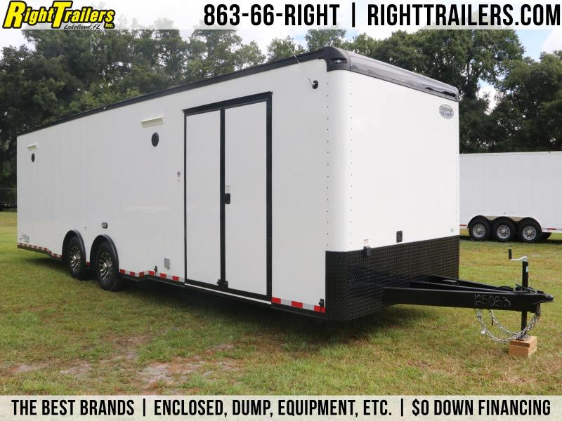 8.5x30 Continental Cargo | Enclosed Racing Trailer
