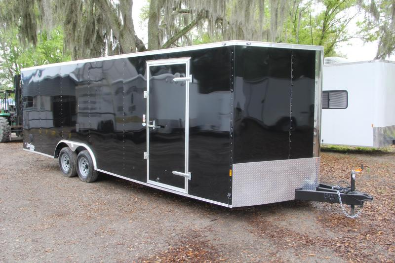 USED-8.5x24 Continental Cargo | Enclosed Car Trailer