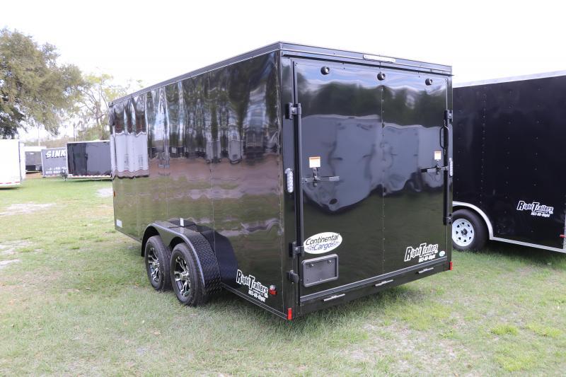 7X16 Continental Cargo | Enclosed Cargo Trailer