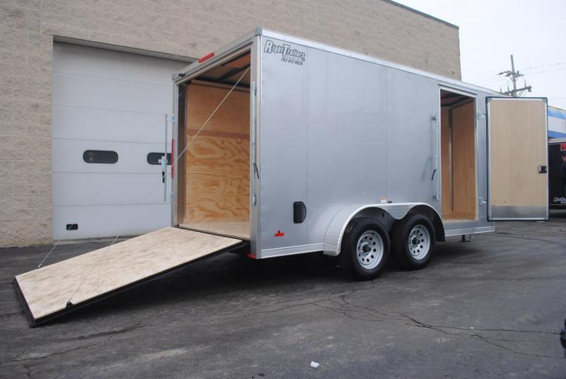 7 X 14 RC Trailer I Enclosed Cargo Trailer