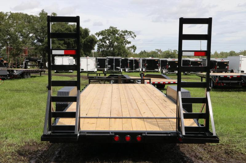 7x24 PJ Trailers | Equipment Trailer