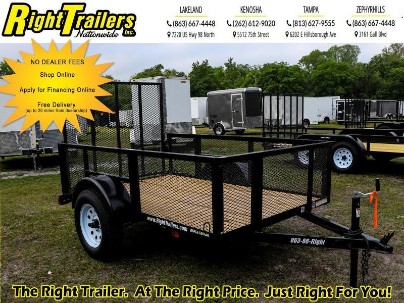5x8 Red Hot Trailers | Utility Trailer