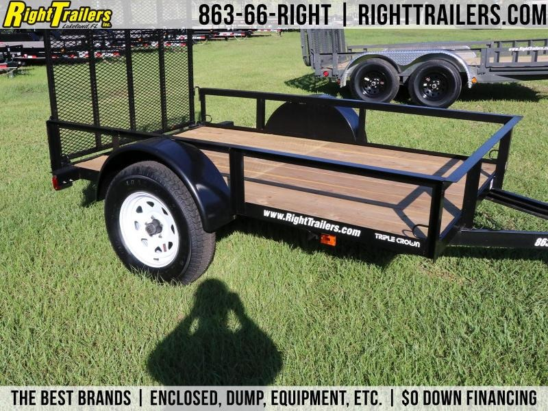 5x8 Red Hot  | Equipment Trailer